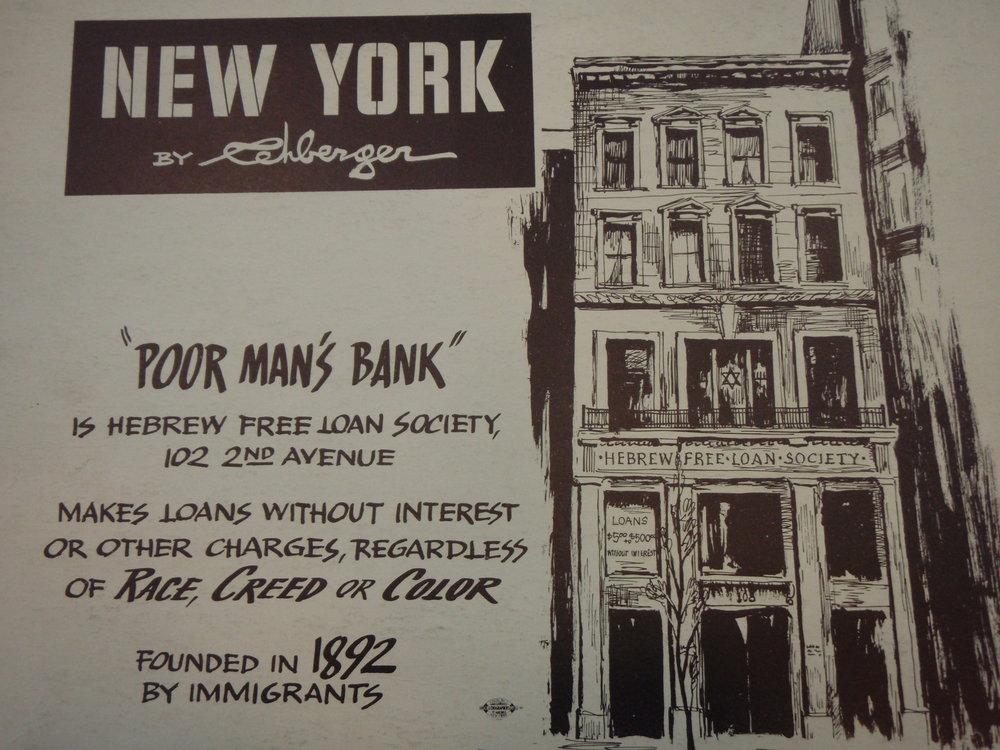 NEW YORK by REHBERGER  1948 #2   Subway Poster  - New York Subways Advertising Co..JPG