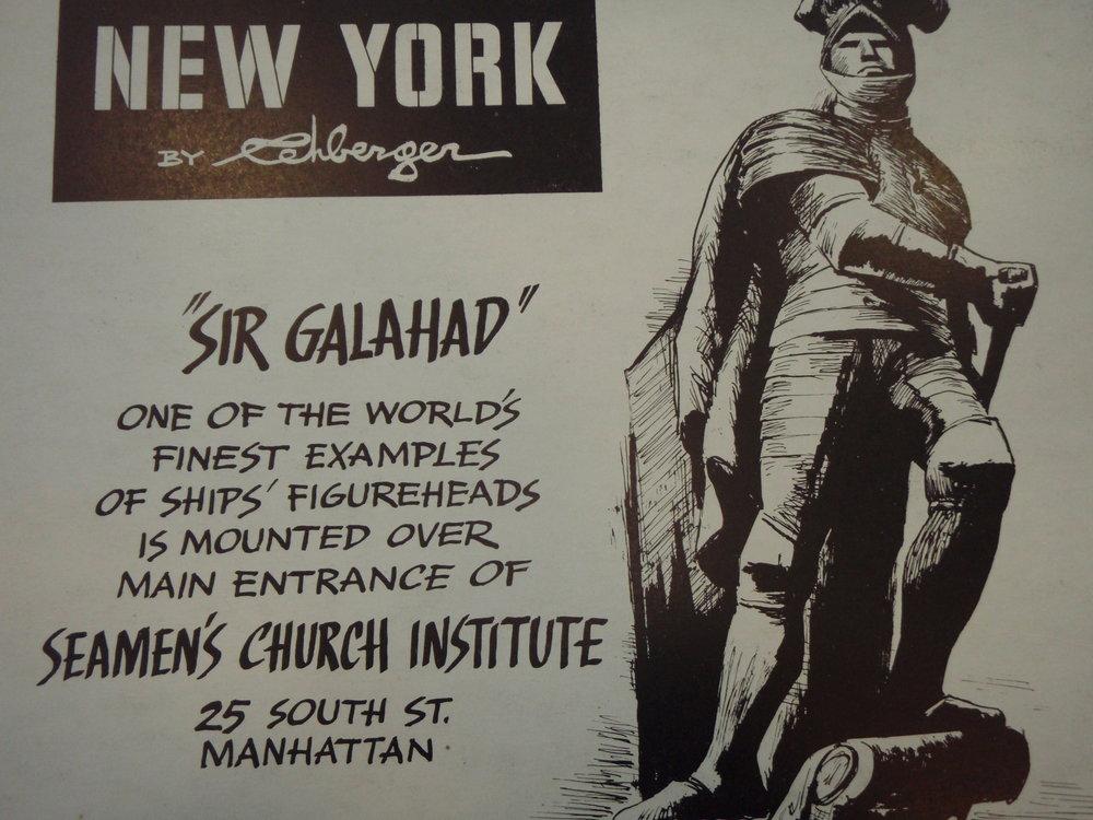 NEW YORK by REHBERGER  1948 #4   Subway Poster  -  New York Subways Advertising Co..JPG