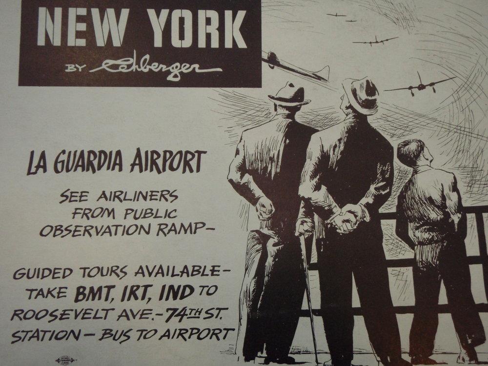 NEW YORK by REHBERGER  1948 #5   Subway Poster -  New York Subways Advertising Co..JPG