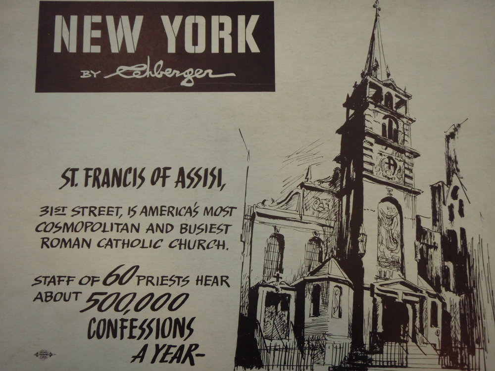 NEW YORK by REHBERGER  1948 #6   Subway Poster  -  New York Subways Advertising Co..JPG