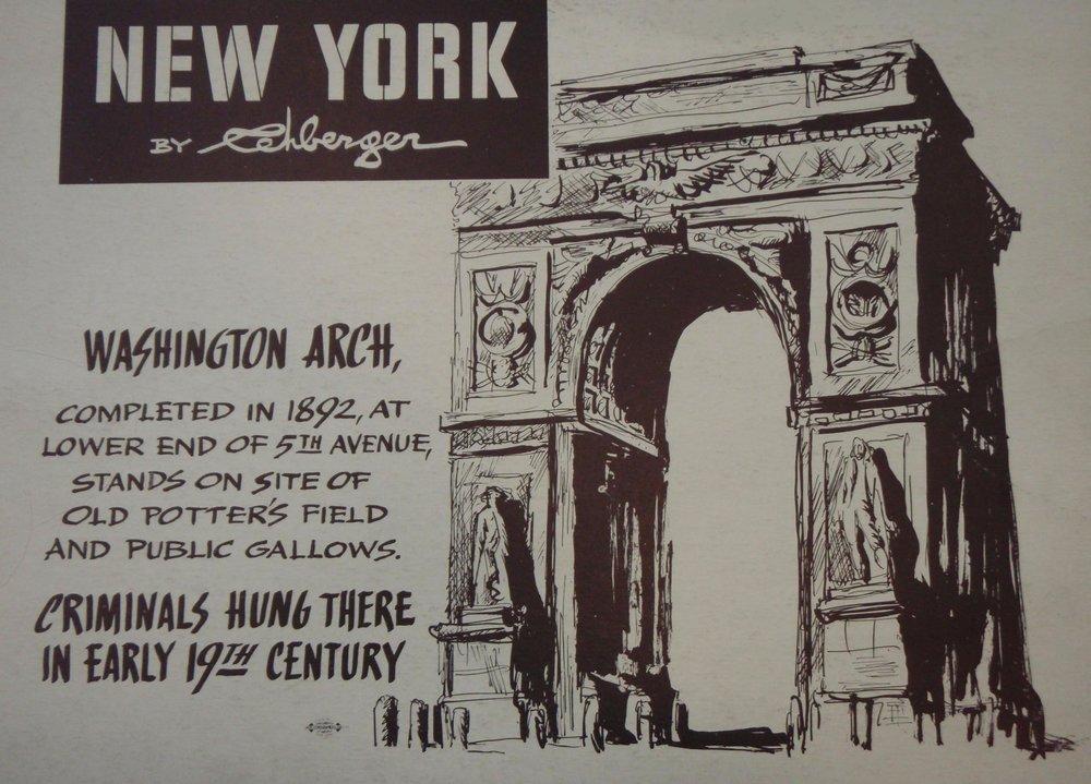 NEW YORK by REHBERGER  1948 #9   Subway Poster  - New York Subways Advertising Co..jpg