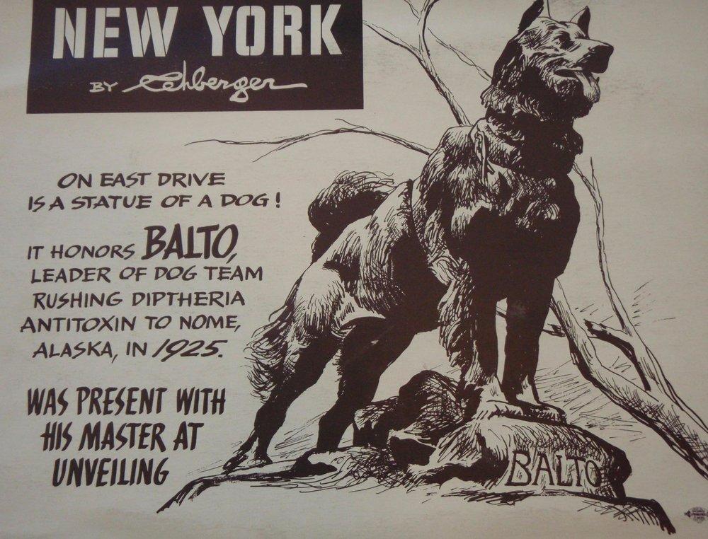 NEW YORK by REHBERGER 1948 #14   Subway Poster  -  New York Subways Advertising Co..jpg