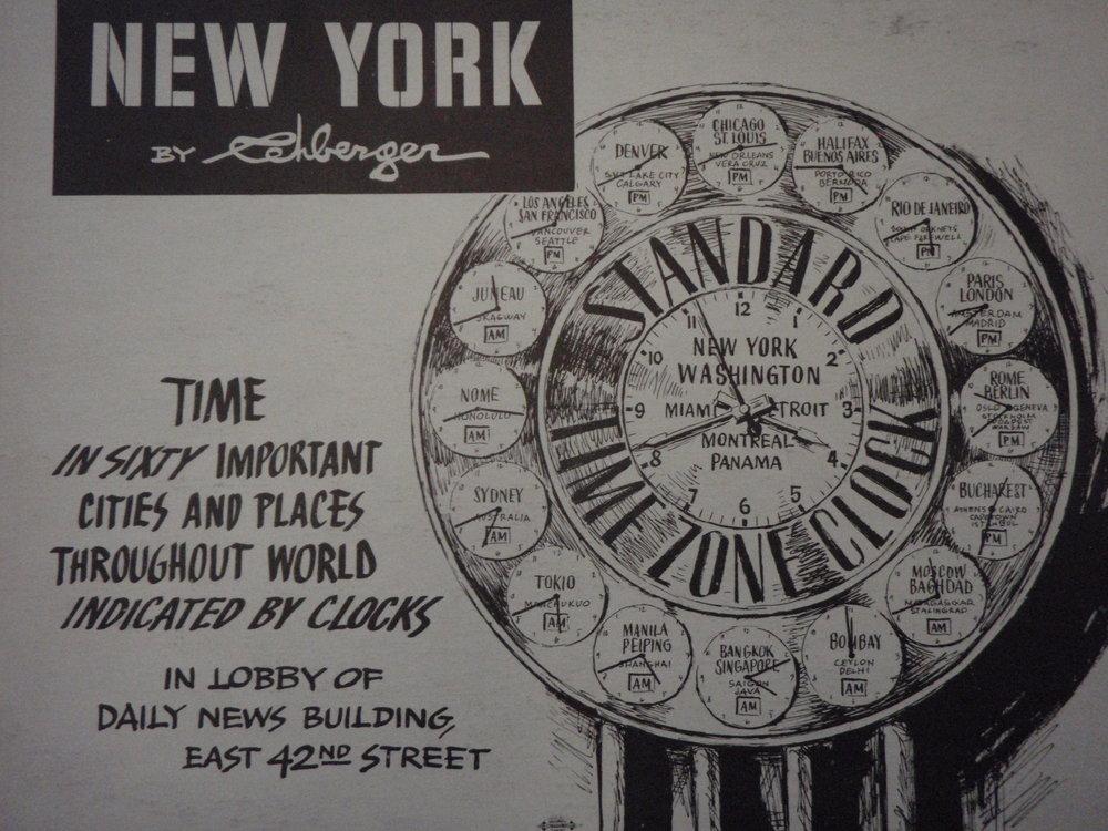 NEW YORK by REHBERGER  1948 #13    Subway Poster  - New York Subways Advertising Co..JPG