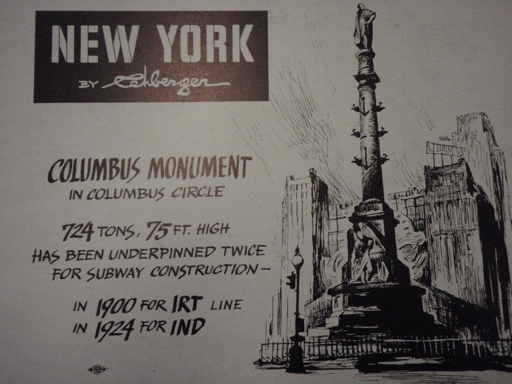 NEW YORK by REHBERGER 1948 #16   Subway Poster  -  New York Subways Advertising Co..JPG