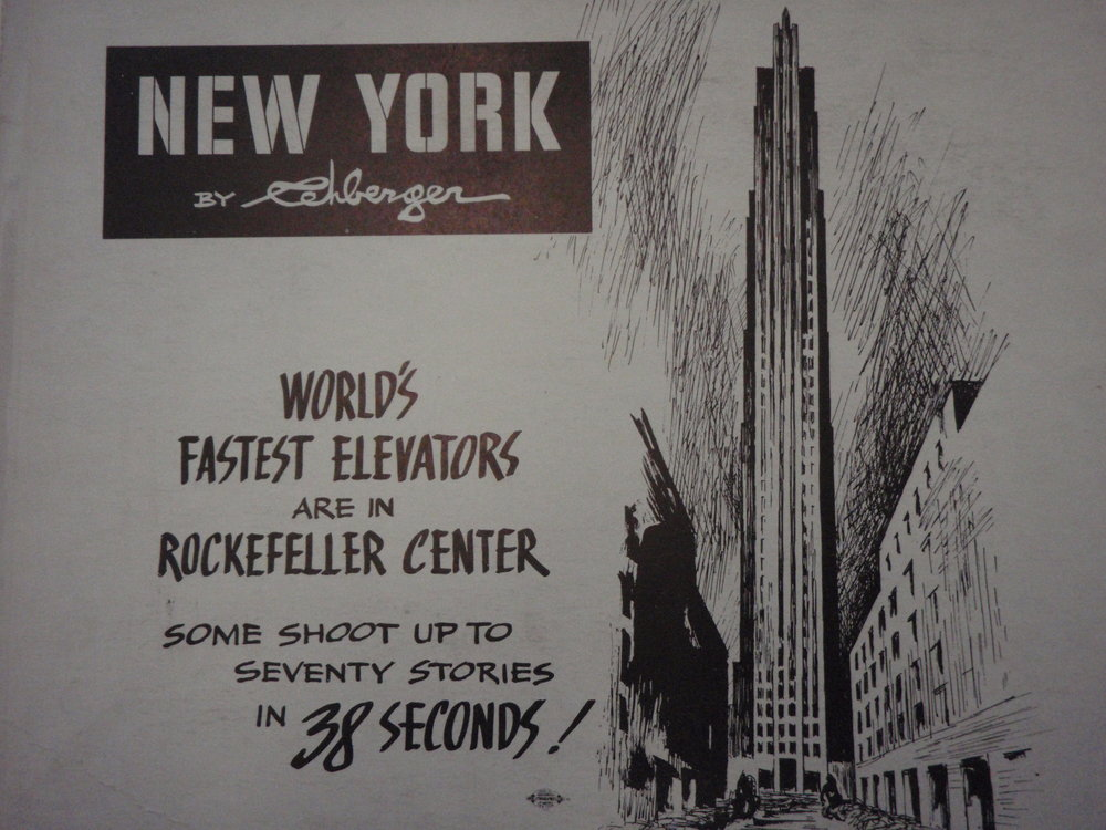 NEW YORK by REHBERGER 1948 #17   Subway Poster  -  New York Subways Advertising Co..JPG