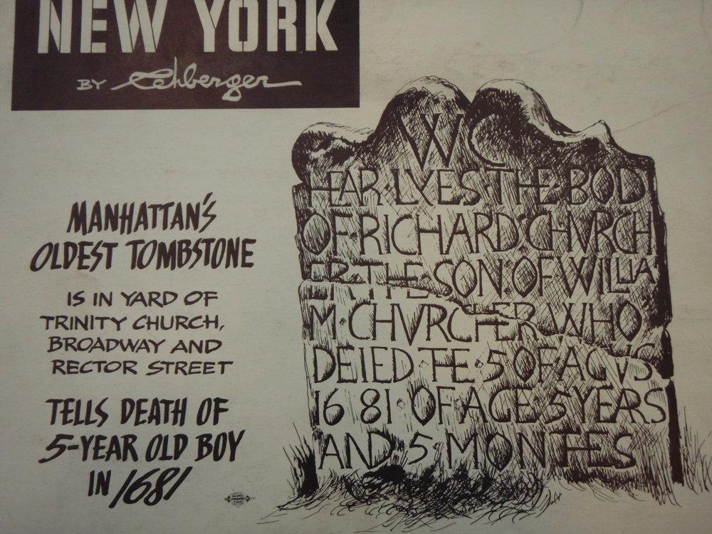 NEW YORK by REHBERGER 1948 #18   Subway Poster - New York Subways Advertising Co..JPG
