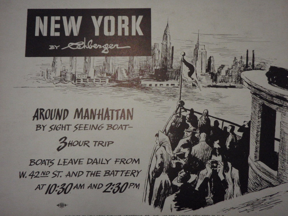 NEW YORK by REHBERGER 1948 #22   Subway Poster  -  New York Subways Advertising Co..JPG