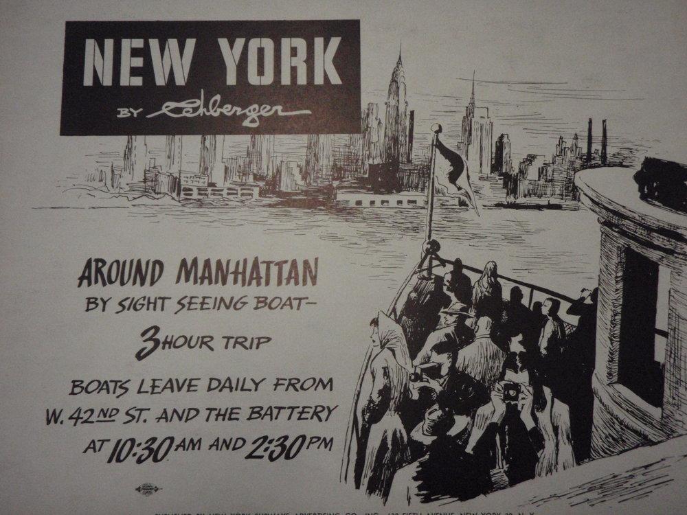 NEW YORK by REHBERGER 1948 #22   Subway Poster  -  New York Subways Advertising Co..JPG