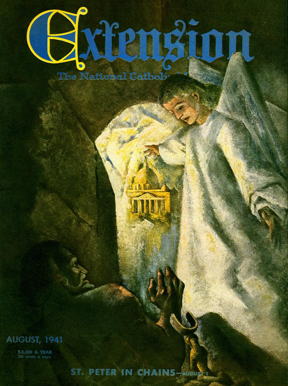 August 1941 -National Catholic Monthly Magazine