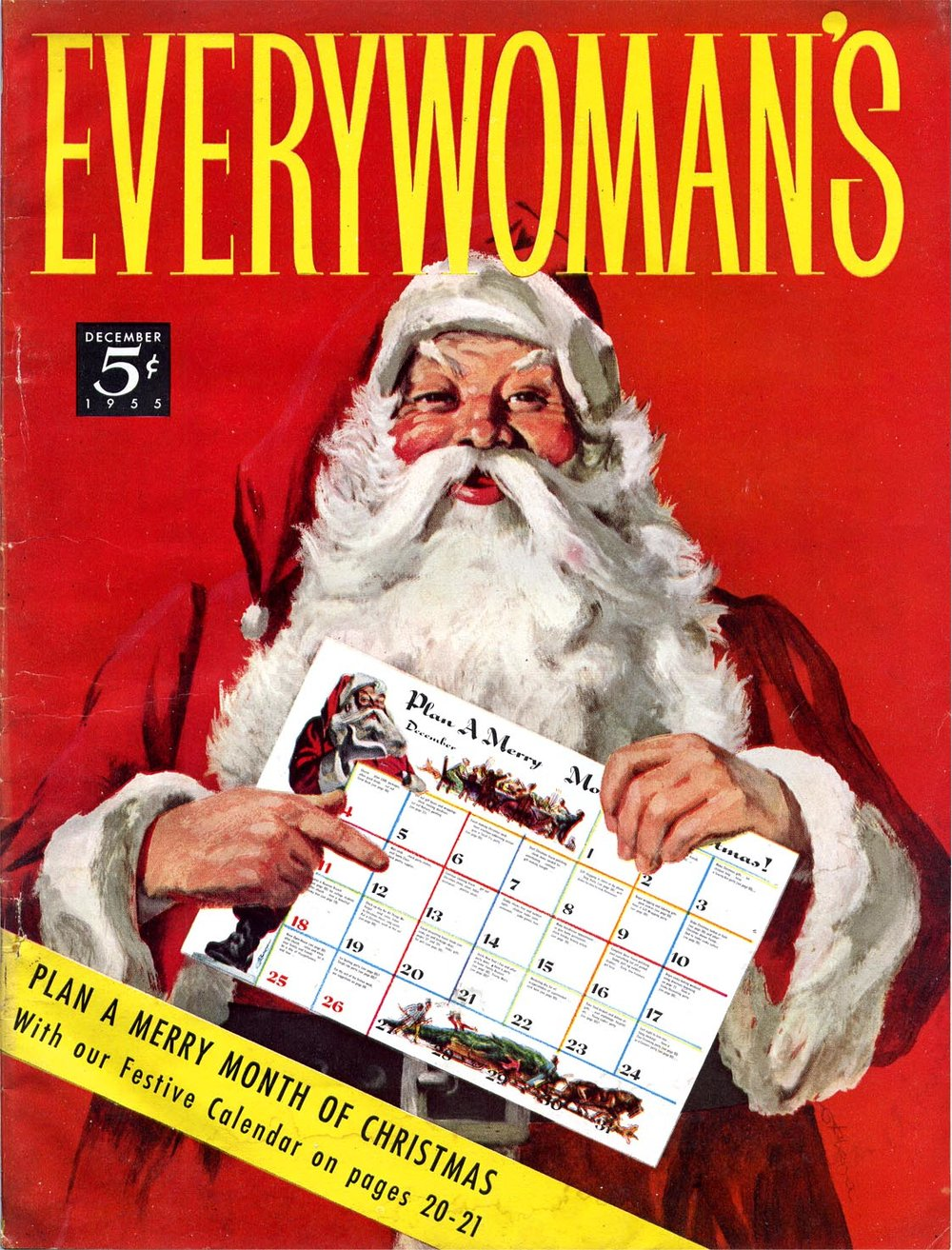 December 1955 - Plan a Merry Month of Christmas