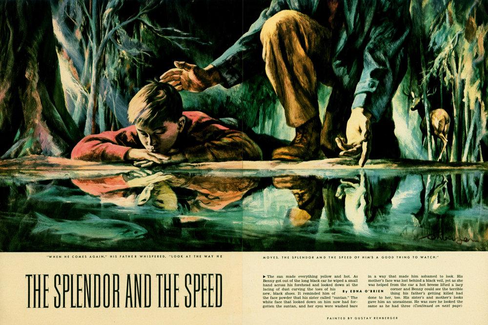 November 1954 - The Splendor and the Speed  (1955 The Art Directors Club of NY Award)