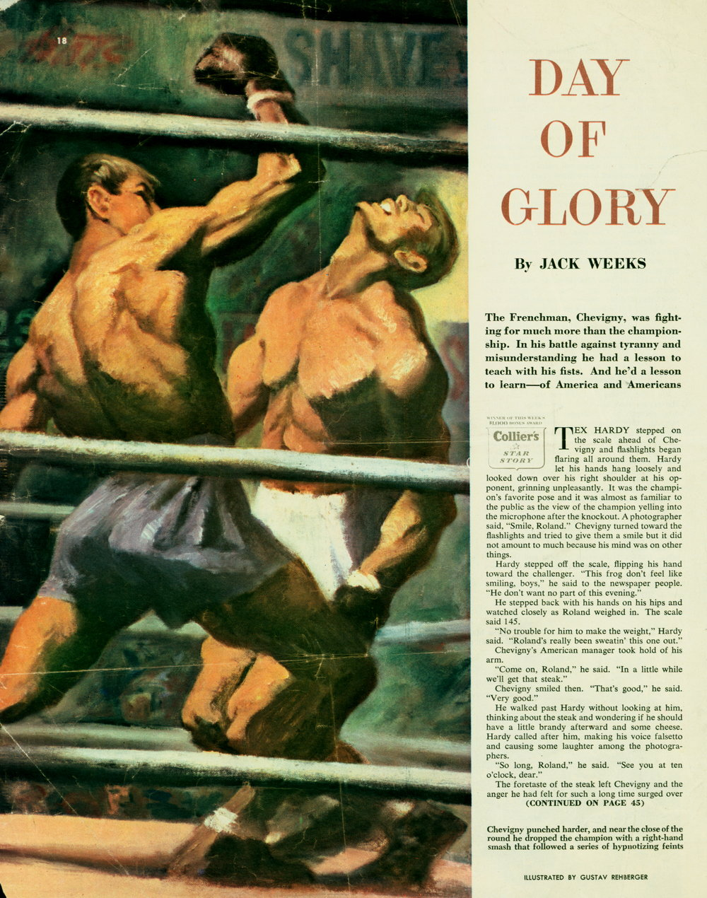 March 19, 1949 - Day of Glory