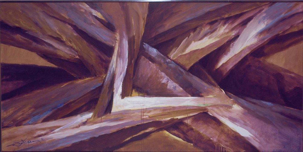 """Eroica III"" (Oil, 48 x 96 in)"