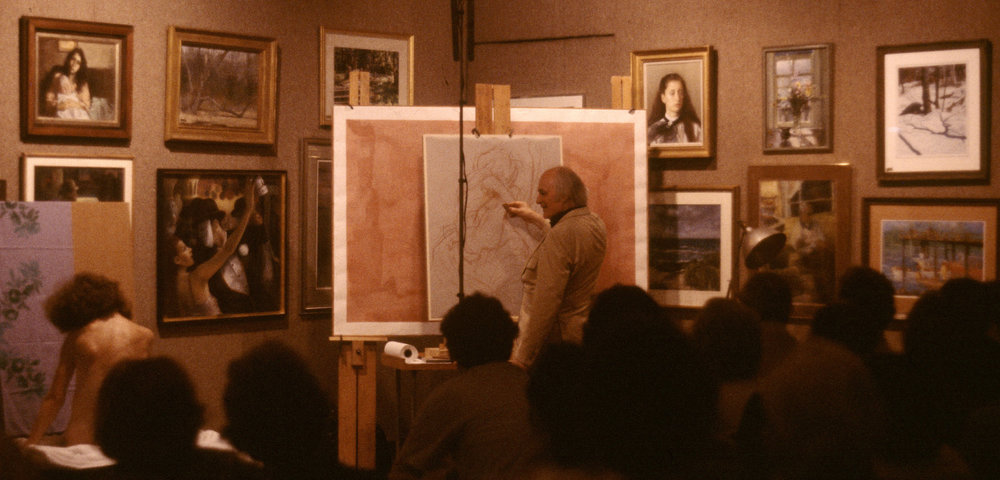 1981 #1 Pastel Society of America, Figure Demonstration, Sept. 27, 1981.jpg