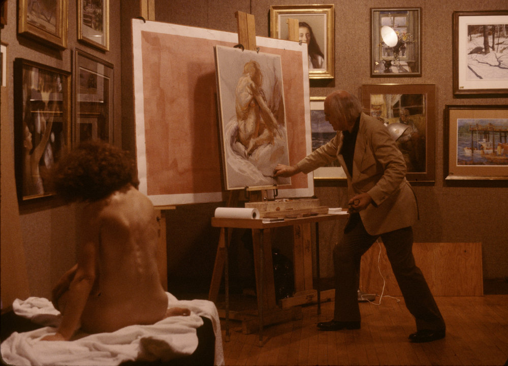 1981 #1a Pastel Society of America, Figure  Demonstration   Sept. 27, 1981 #1a.jpg