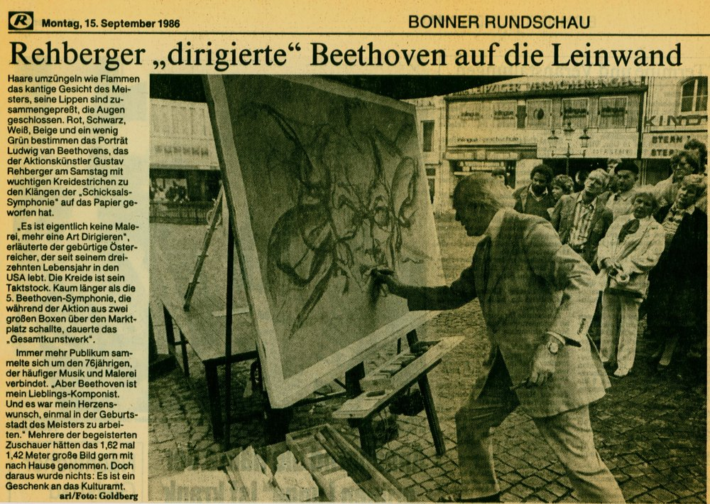 1986 Art with Music Performance, Beethoven, Invited by the city of  Bonn, Germany for the XXXII Internationales Beethovenfest.JPG