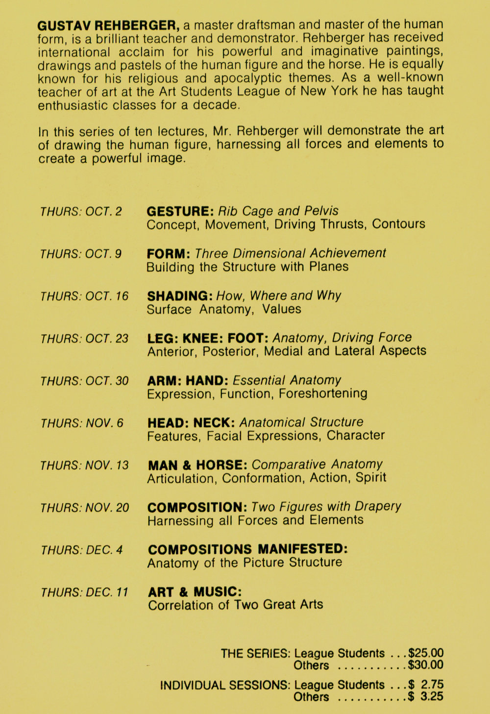 1980 Art Students League of NY Lecture Brochure #1a.JPG