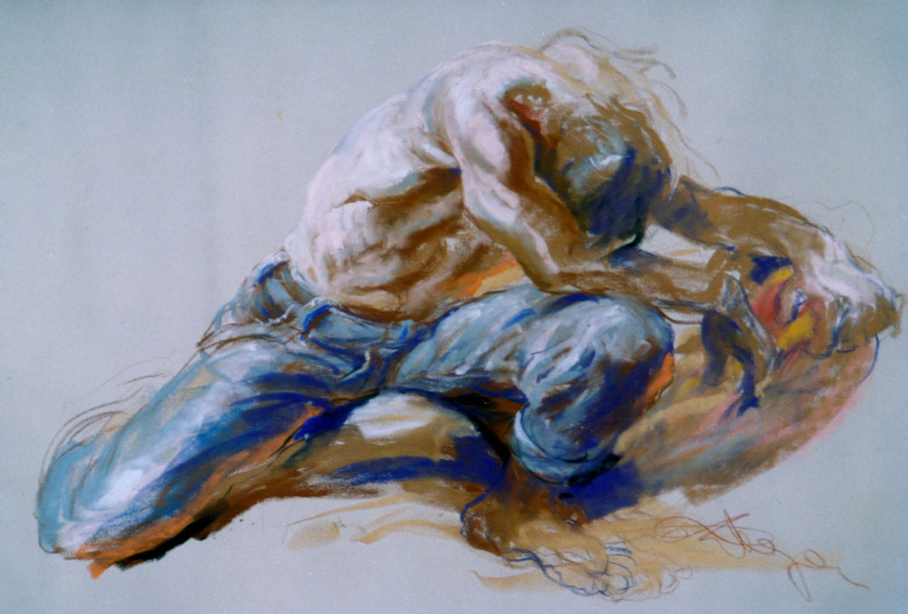 (Chalk, 43 x 48 in.) 1989