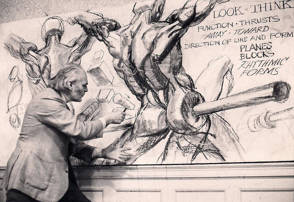 (Chalk 4 x 8 ft.) 1975