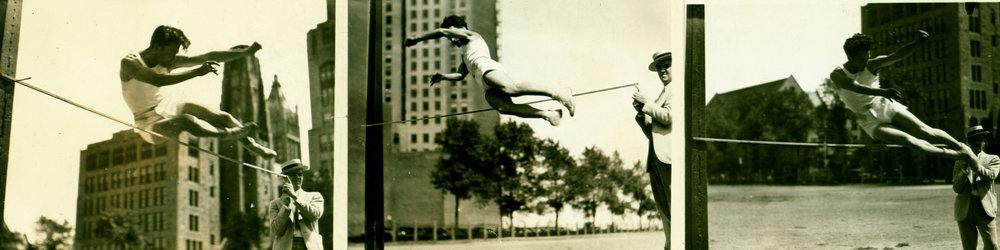 High Jumping in Chicago 1928