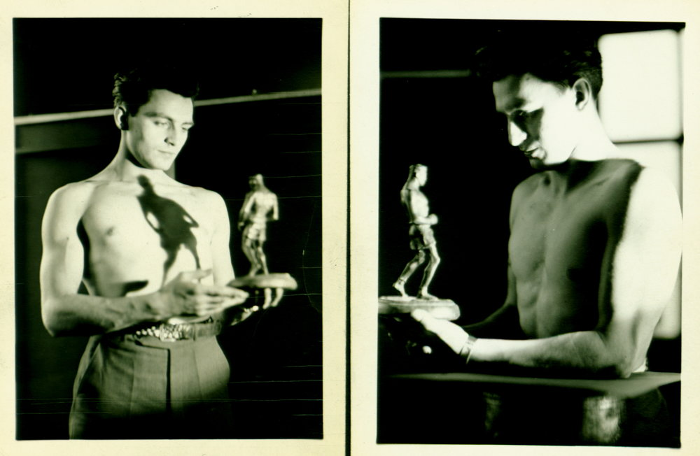 Sculpture of Boxer c. 1930