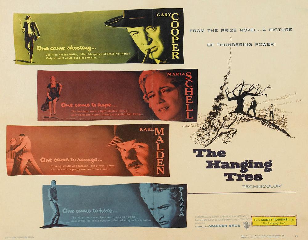 """""""The Hanging Tree"""" starring Gary Cooper & Karl Malden (Warner Bros.)"""