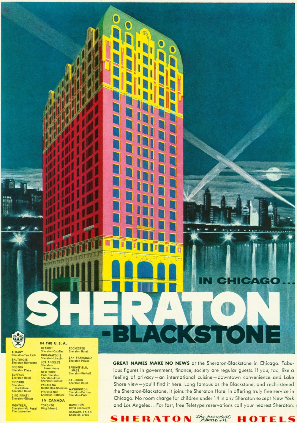 1955 - Sheraton in Chicago