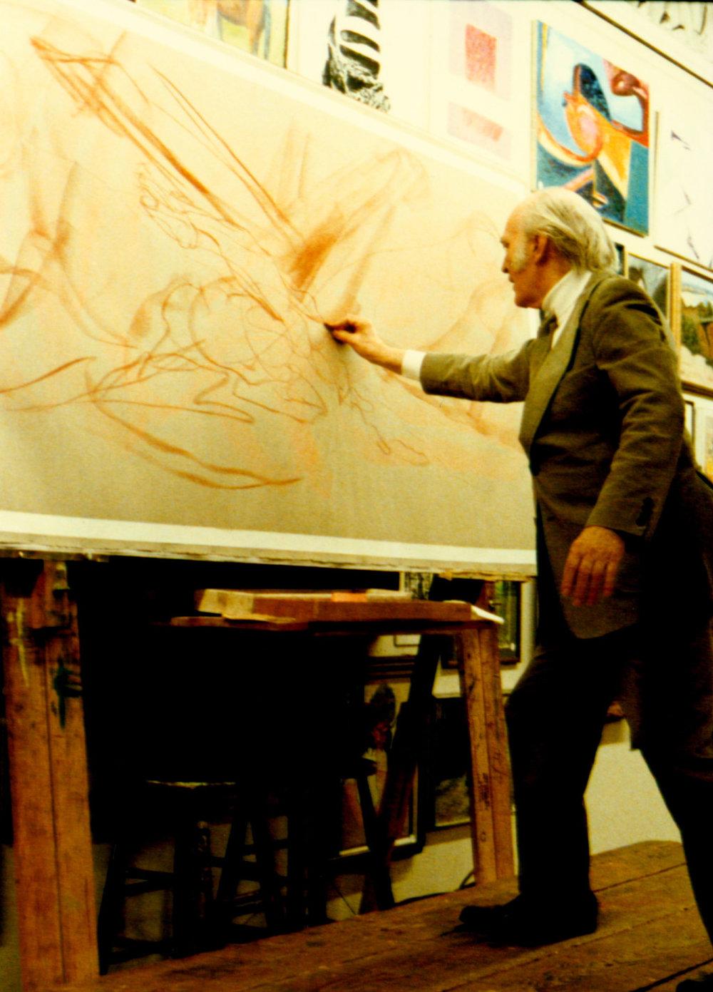 1986 - Apocalypse (lecture chalks, 4 x 8, paper)