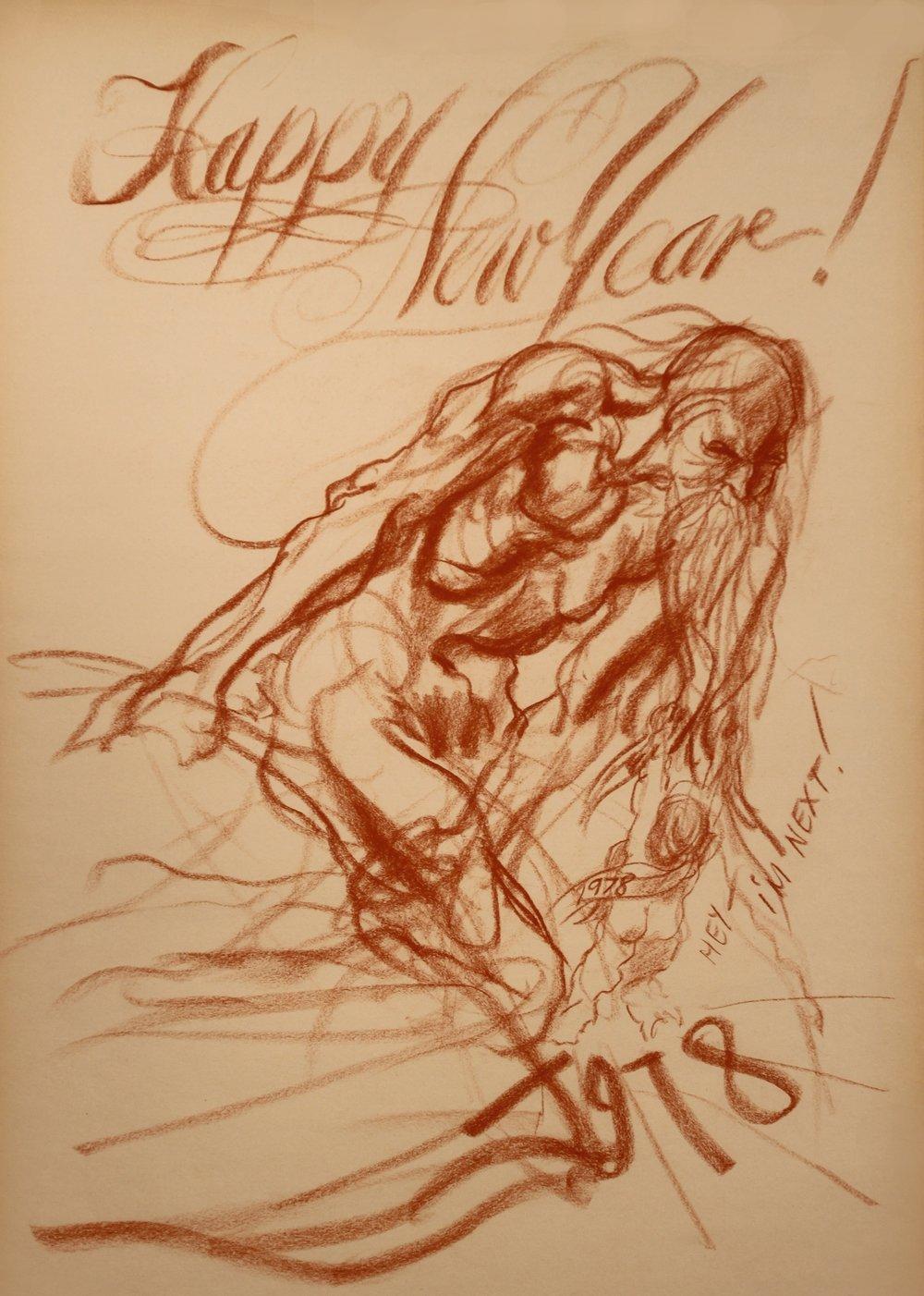 """Happy New Year 1978"""