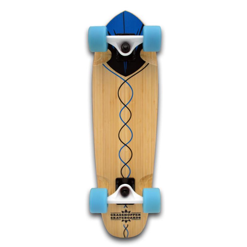Grasshopper-Skateboard-Shortboard-Mini-cruiser-street-Complete-bamboo-hemp-Blue-pintail-2.jpg