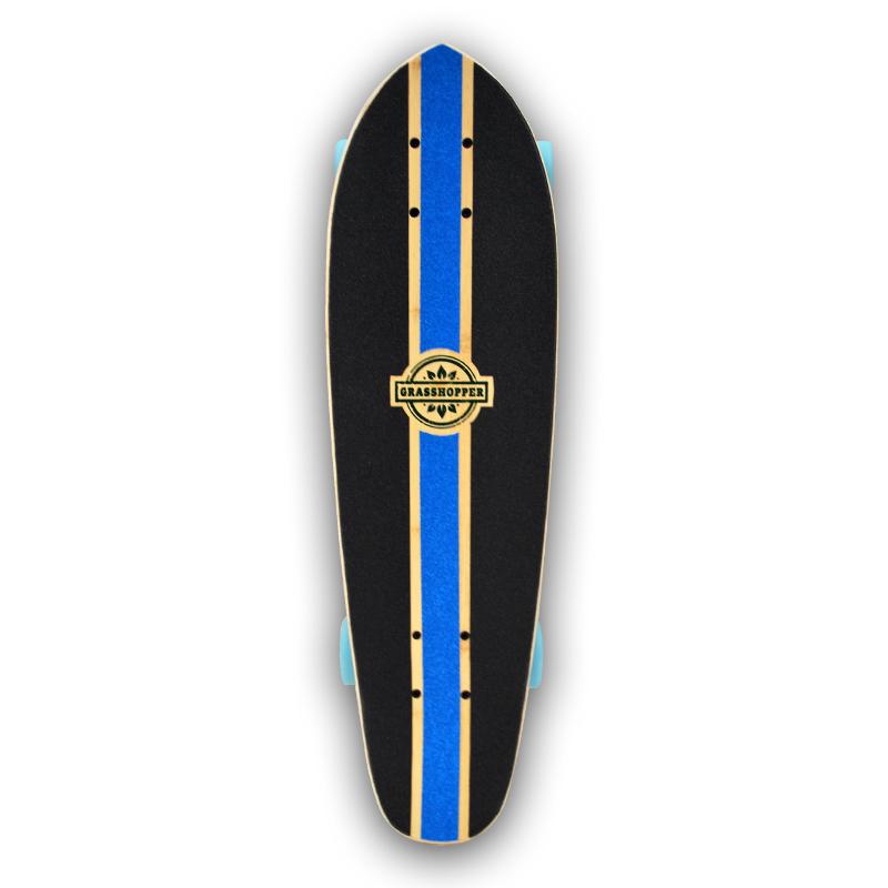 Grasshopper-Skateboard-Shortboard-Mini-cruiser-street-Complete-bamboo-hemp-Blue-pintail-3.jpg