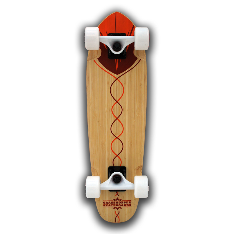 Grasshopper-Skateboard-Shortboard-Mini-cruiser-street-Complete-bamboo-hemp-Red-pintail-2.jpg