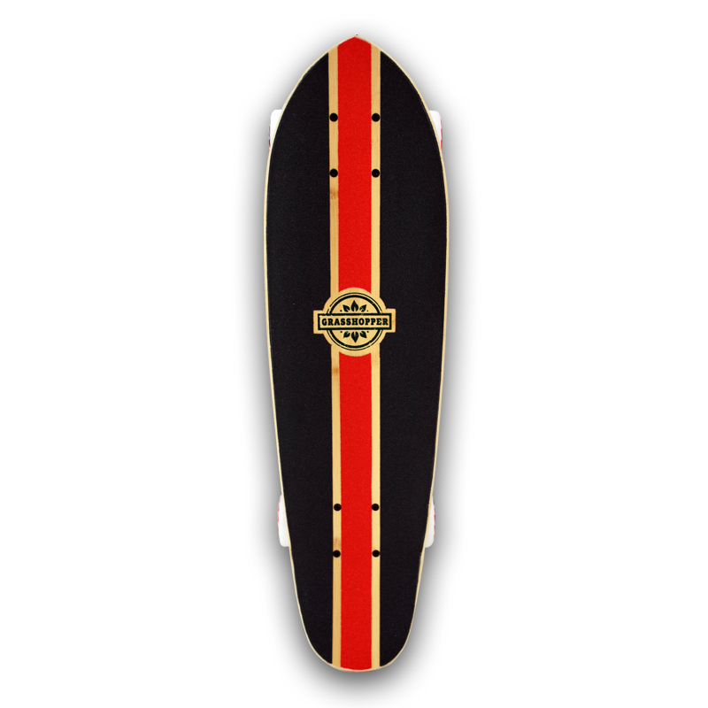 Grasshopper-Skateboard-Shortboard-Mini-cruiser-street-Complete-bamboo-hemp-Red-pintail-3.jpg