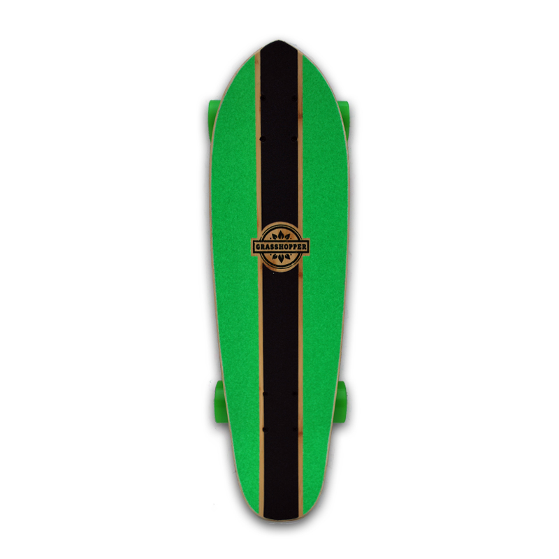 Grasshopper-Skateboard-Shortboard-Mini-cruiser-street-Complete-bamboo-hemp-Green-pintail-5.jpg