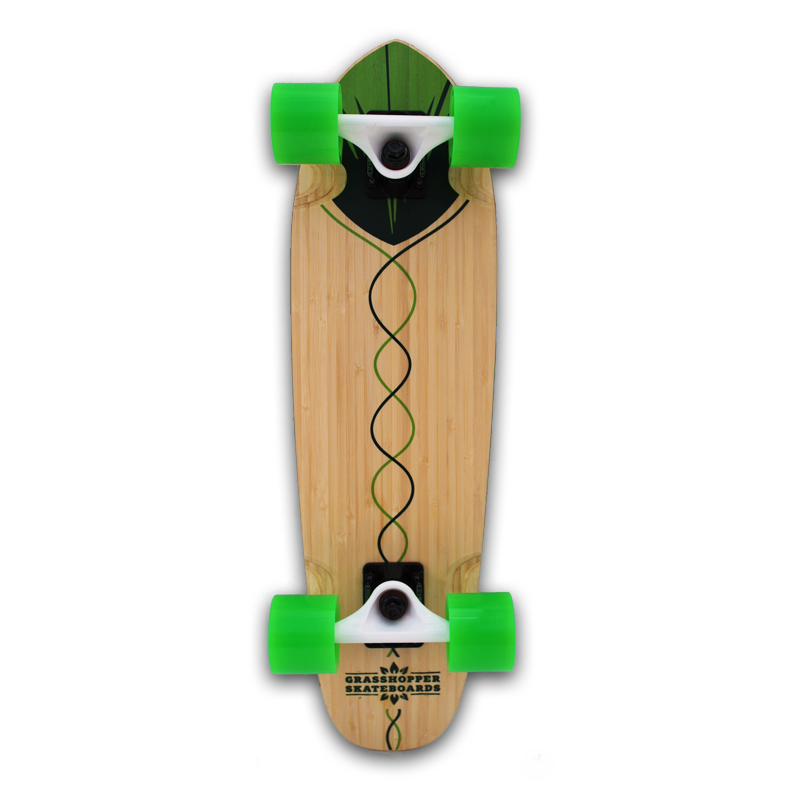 Grasshopper-Skateboard-Shortboard-Mini-cruiser-street-Complete-bamboo-hemp-Green-pintail.jpg
