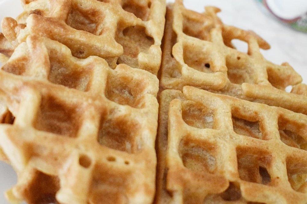 Vegan Belgian Waffles -