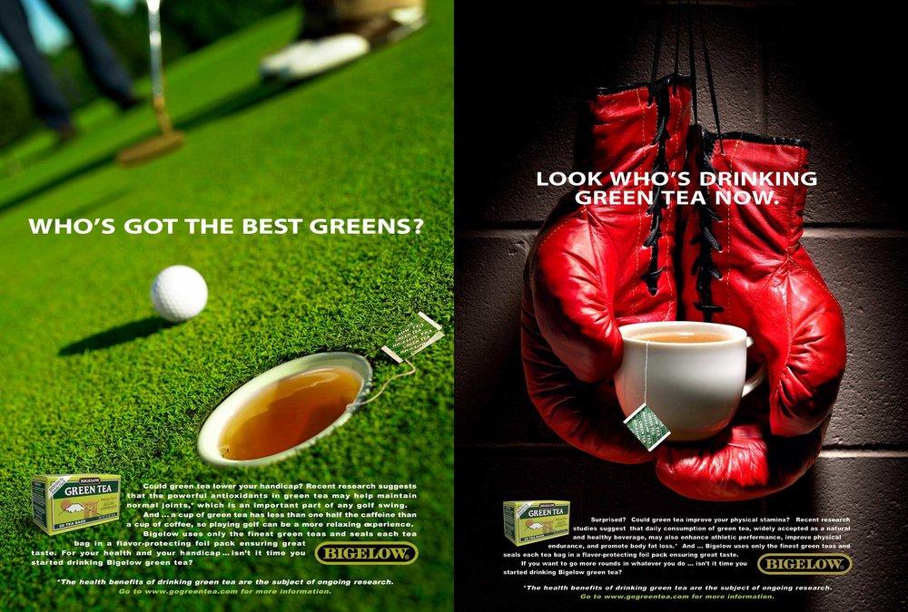Bigelow Green Tea Campaign