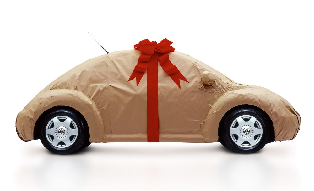 Volkswagon for Christmas