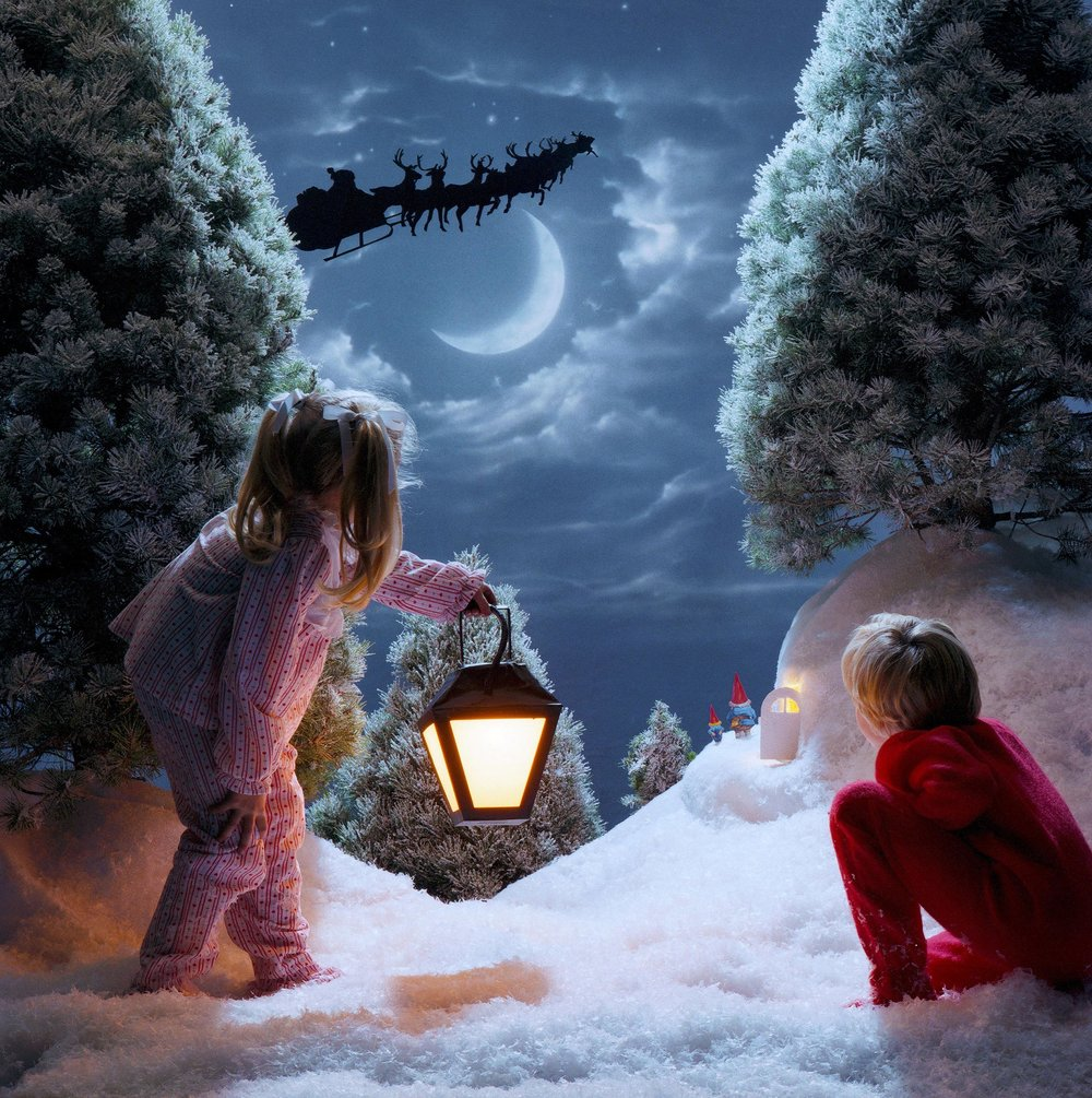 """Santa really does exist!"""
