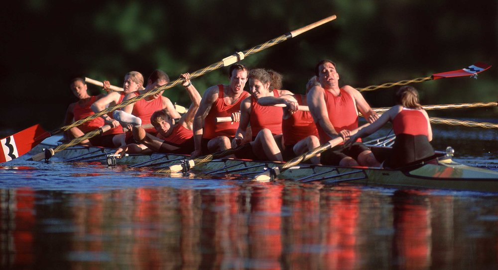 Rowers' Mishap   PARTNERS+simons  Lisa Stevenson • AD _________________________________________________________