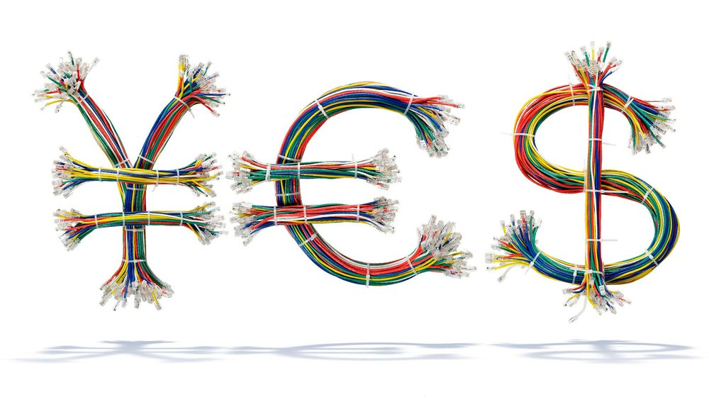 Yen, Euro, Dollar cables