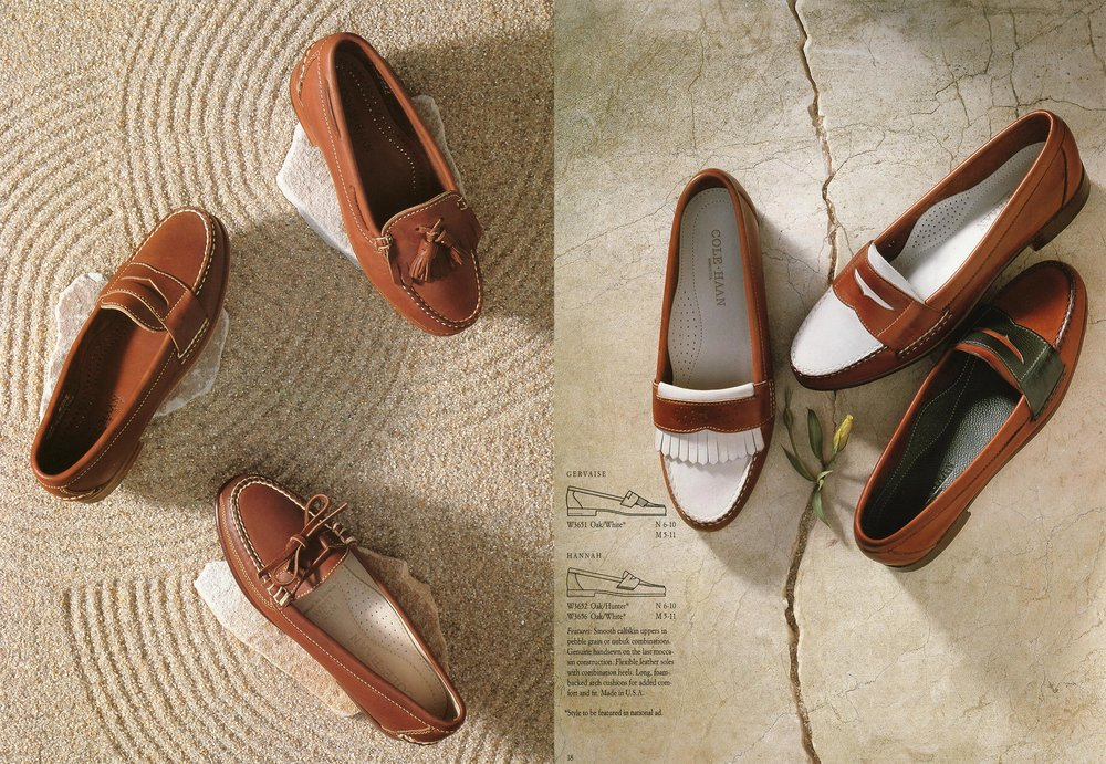 Cole Haan  Cipriani Design • agency   Rose Conroy • AD  Many, many Cole Haan ads and catalogs shot over the years. _________________________________________________________