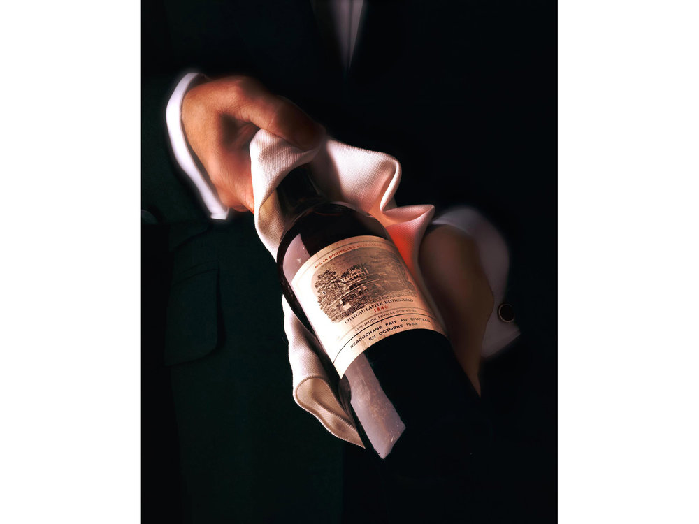 Most expensive bottle of wine in the world