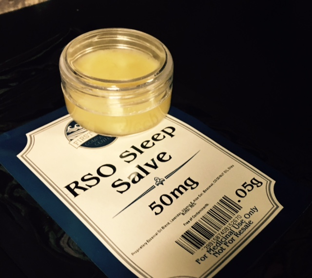 RSO Sleep Salve