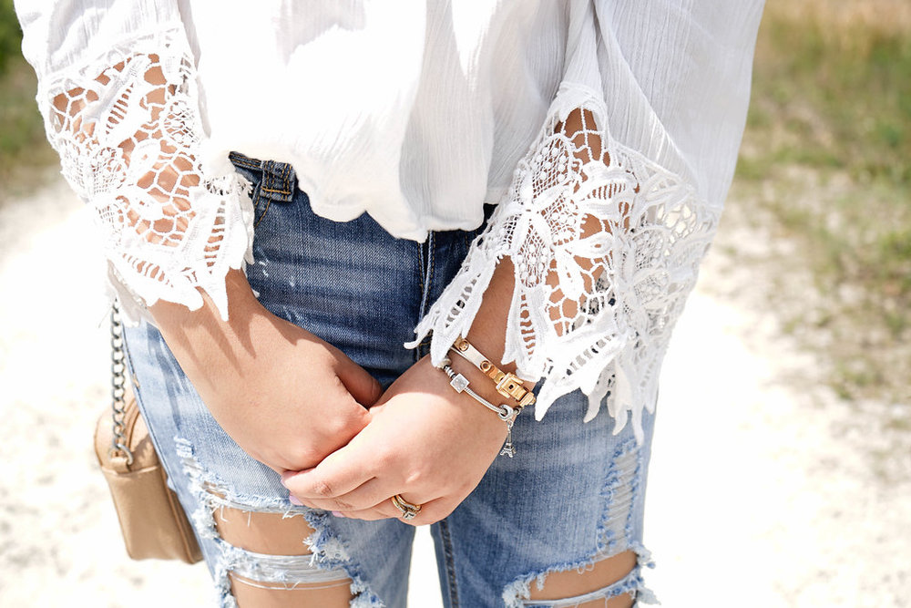 Seriously, how cute is the detail of this shirt's sleeves?!