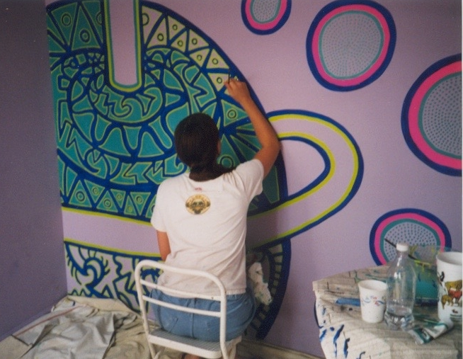 1st Mural commission, 1997