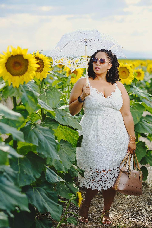 ...Look Details... - Dress: CityChic via StitchFixShoes & Sunglasses: Cira LtdBag: Gianni Bernini