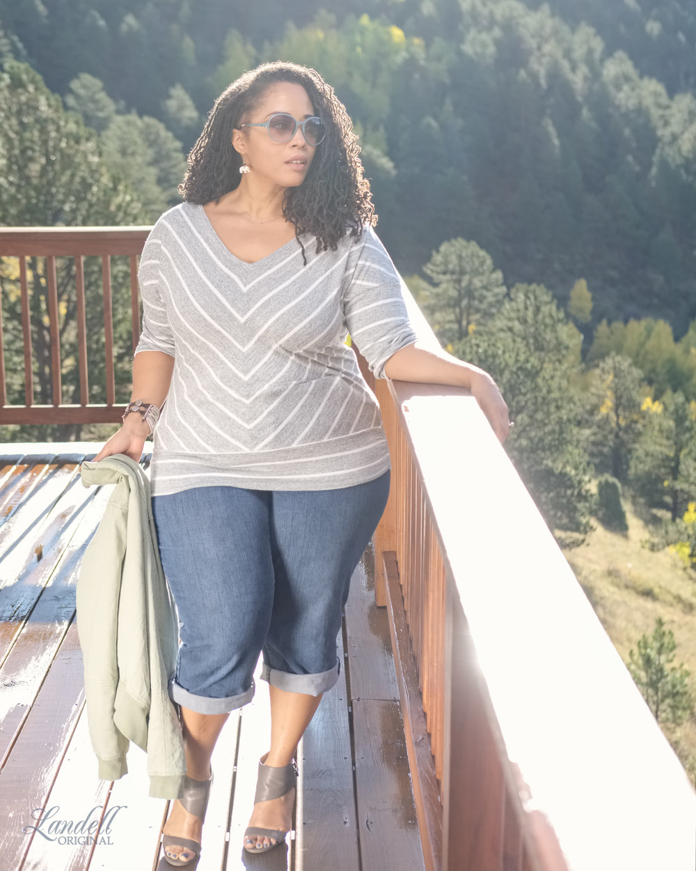 Casual Fall Style - ..sponsored by StitchFix!