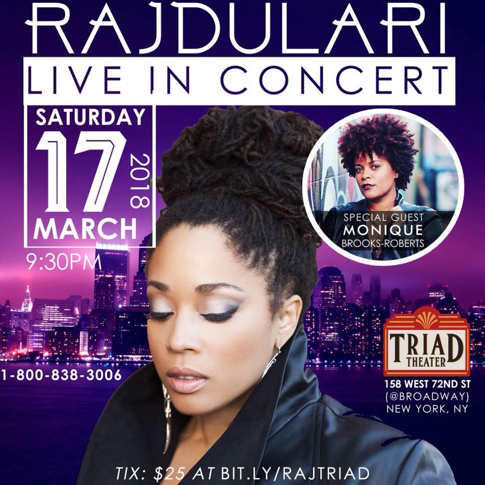 New York - MARCH 17th- I'm excited to be performing at The Triad Theater on March 17th, with some amazing special guests!