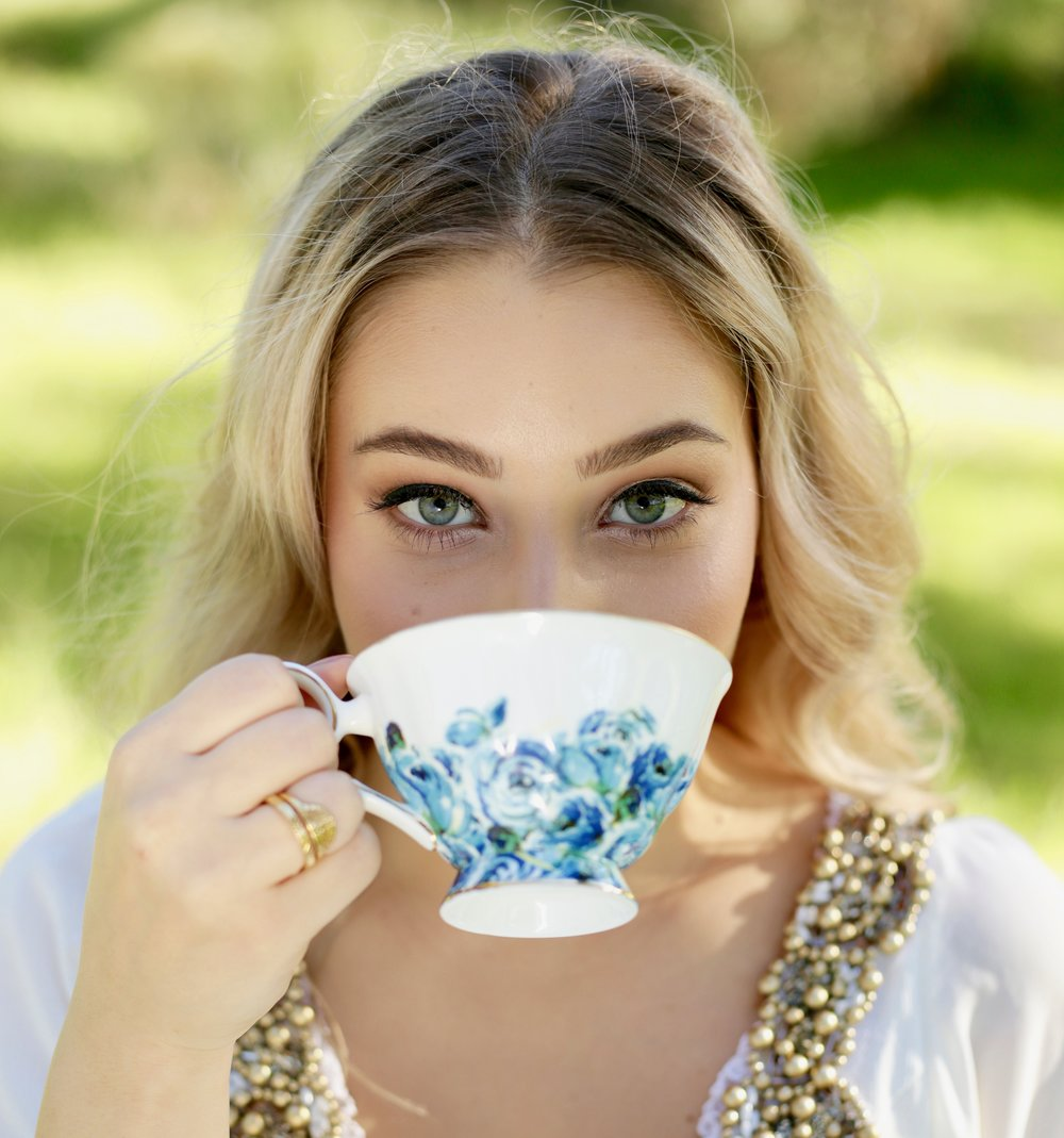 Amity Created Cup of Tea with Model